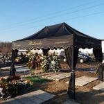 namiot pogrzebowy